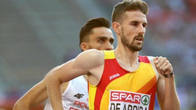 Álvaro de Arriba durante las semifinales.