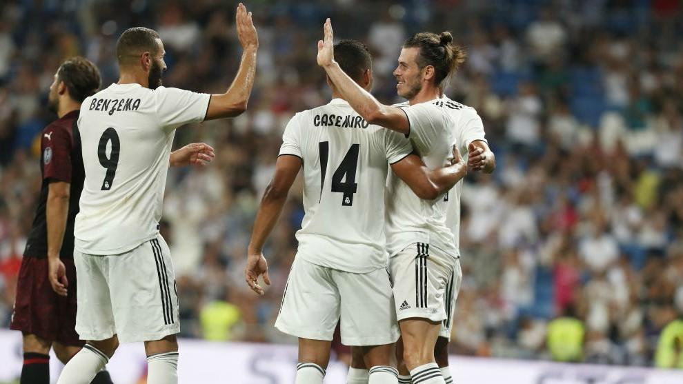 BBA: Bale, Benzema and Asensio