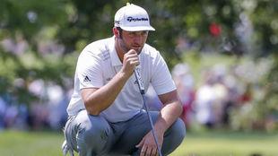 Jon Rahm, durante la tercera jornada del PGA Championship.