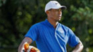 Tiger Woods, durante la tercera jornada del PGA Championship.