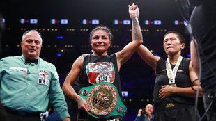 Nueva victoria para la boxeadora mexicana
