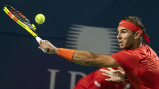 Rafael Nadal, durante su partido de semifinales ante Karen Khachanov