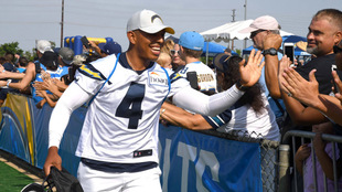 Aguayo con los Chargers
