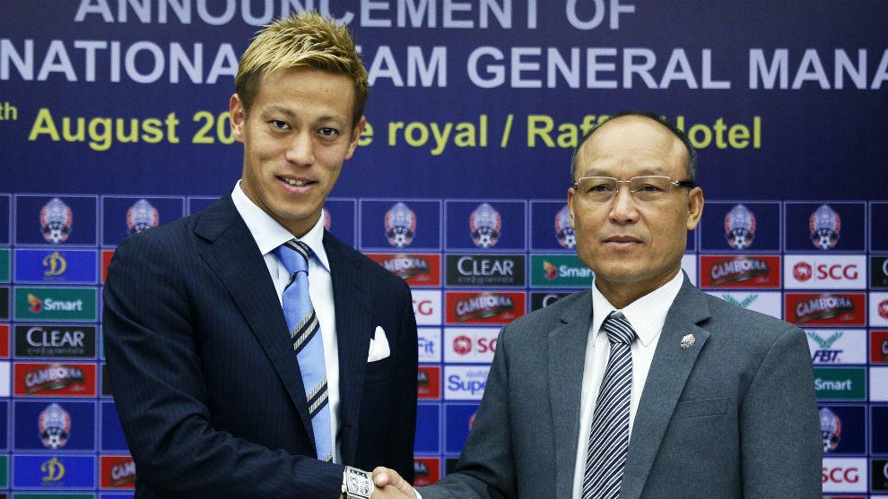 Keisuke Honda, exjugador del Pachuca, será seleccionador nacional de Camboya