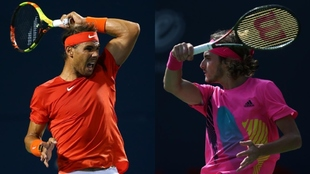 Nadal y Tsitsipas, protagonistas de la final del Masters 1.000 de...