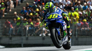 Rossi, en el Red Bull Ring.