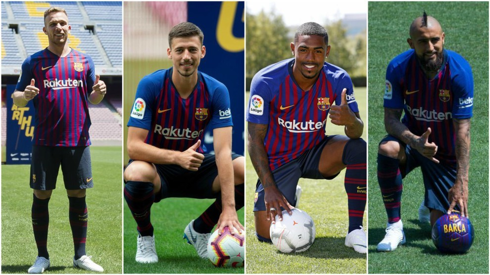 Barcelona's new signings