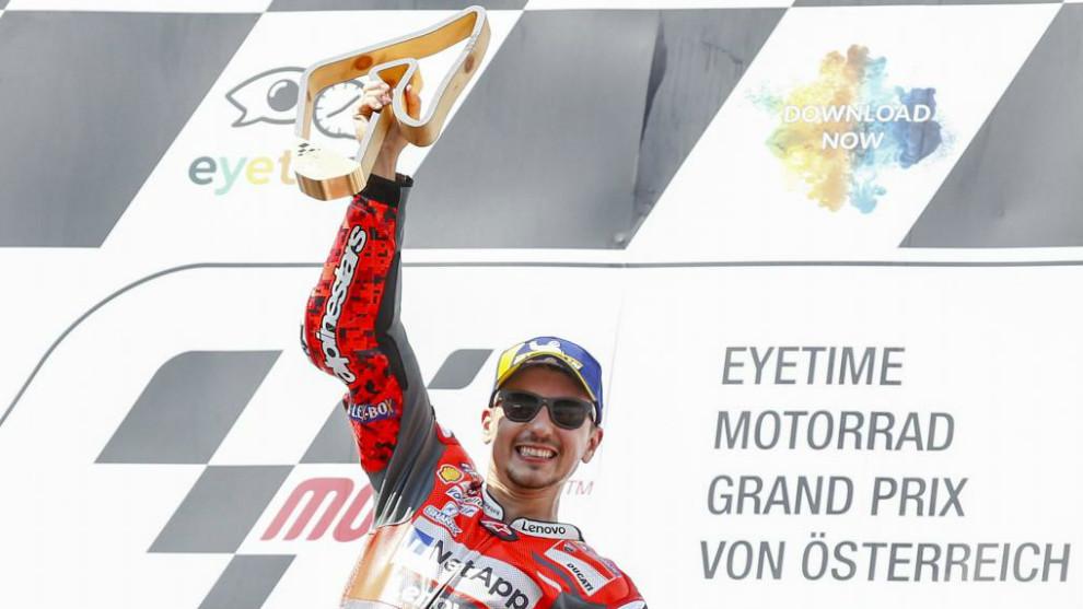 Su victoria en el Red Bull Ring es la 150 del motociclismo español en...