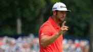 Jon Rahm, durante la cuarta jornada del PGA Championship.