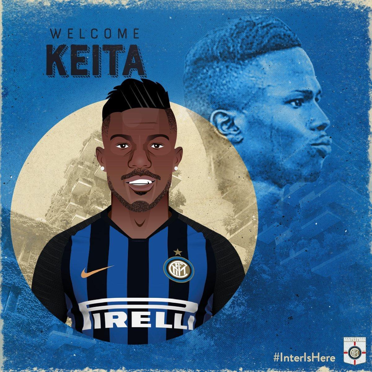 Keita Baldé es del Inter — Oficial