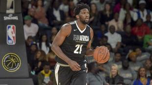 Joel Embiid, durante el NBA Africa Game.