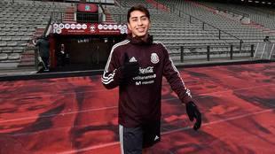 Govea ha tenido participación con selección mexicana