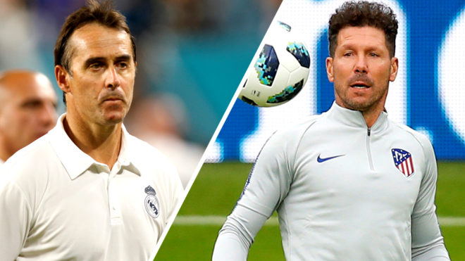Real Madrid Vs Atletico De Madrid Horario Y Donde Ver En Tv En
