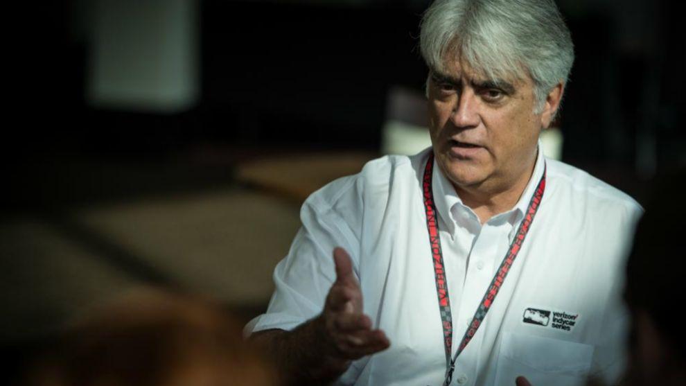 Mark Miles, CEO de la IndyCar y las 500 Millas de Indianápolis.