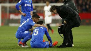 Bergara, tras sufrir una lesión la pasada temporada.