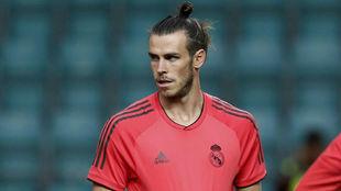 Bale, en el último entrenamiento antes de la Supercopa de Europa