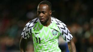 Victor Moses, con Nigeria en el pasado Mundial de Rusia 2018