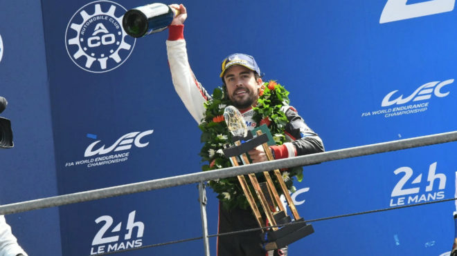 Alonso se quedó sin triunfo en Silverstone