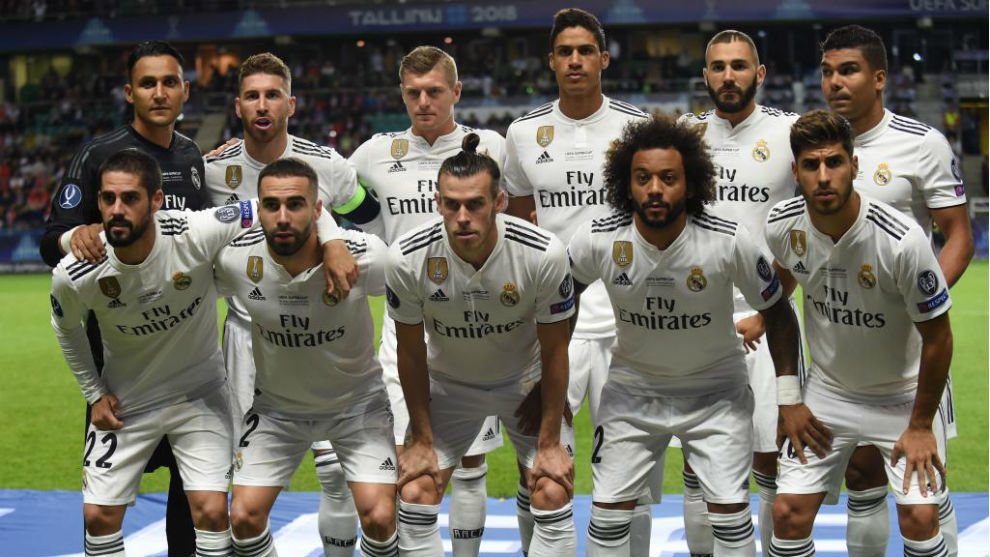 El once del Real Madrid en la Supercopa de Europa
