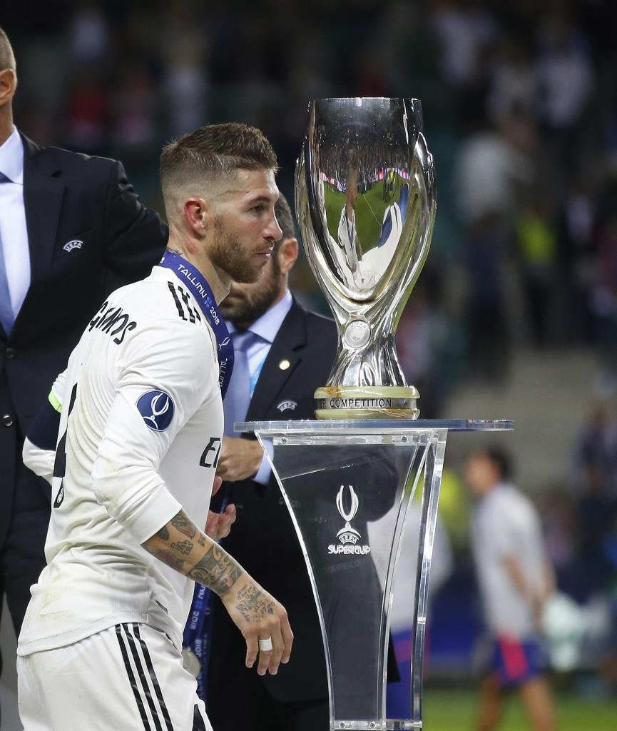 Ramos didn't lift the cup this time.