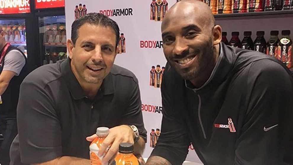 Kobe Bryant invirtió sobre 6 millones de euros en 2014 en BodyArmor,...