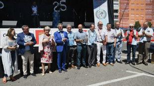 XXV aniversario de la Federación de Peñas Celtistas