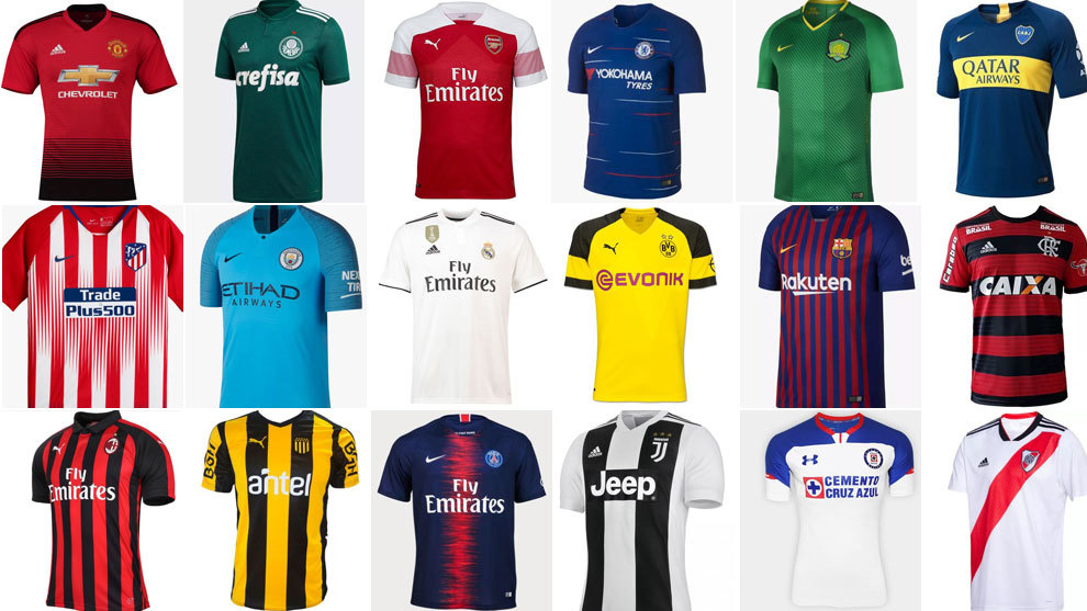 Which is the best new shirt from the biggest clubs in the world?