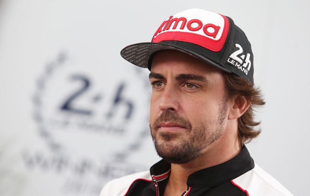 Fernando Alonso, hoy en Silverstone.