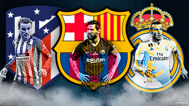 Laliga Santander Real Madrid Barcelona Or Atletico Who