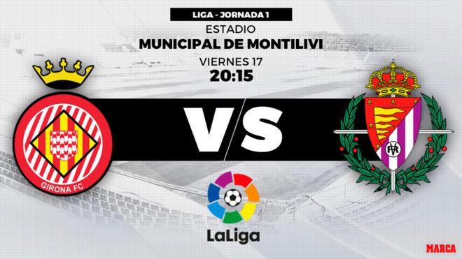 Liga Santander 2018 19 Girona Vs Valladolid Punto De Partida