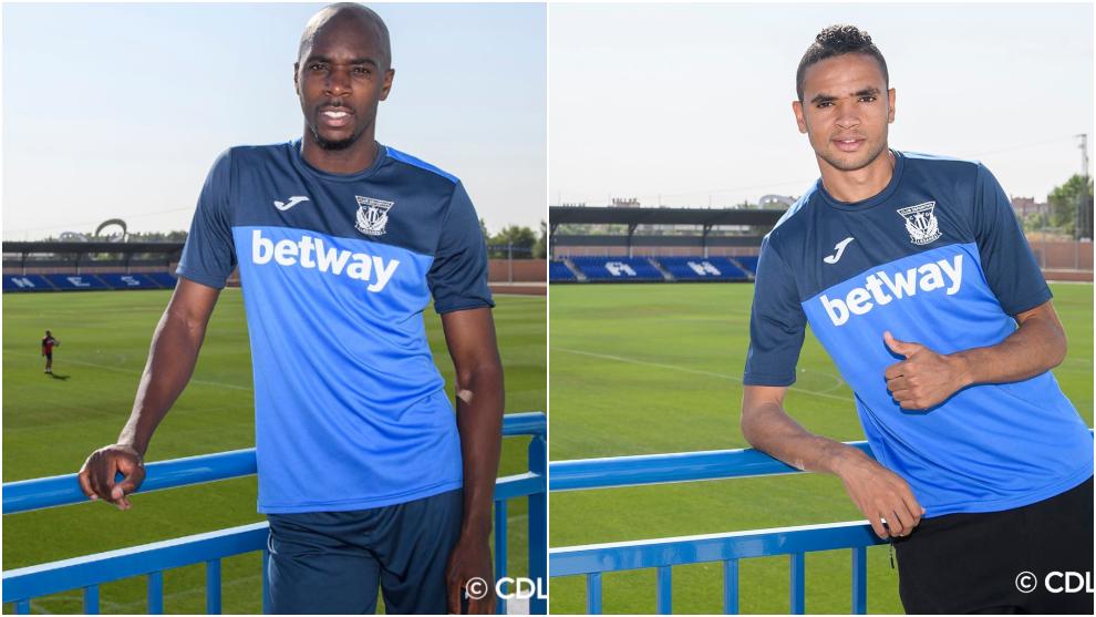 Fotos oficiales de los nuevos jugadores del Leganés