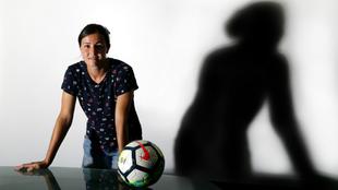 Natalia Pablos posa para MARCA momentos antes de la entrevista