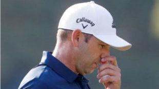 Sergio García (38 años) durante el pasado PGA Championship.