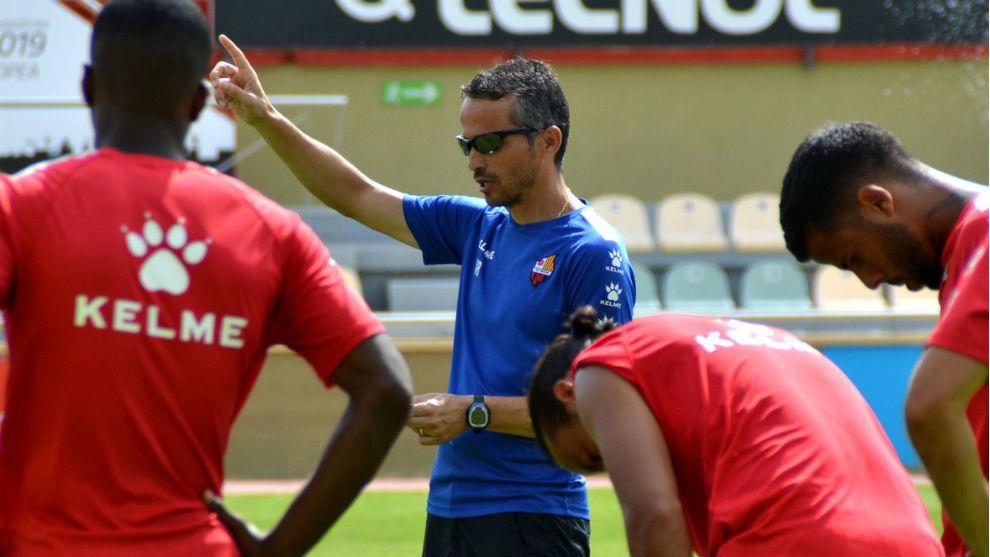 Xavi Bartolo, durante una sesión.