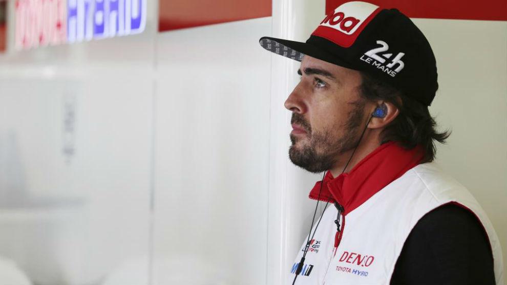 Fernando Alonso (ESP)  TOYOTA GAZOO  Racing. World Endurance...