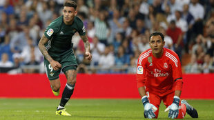 Real Madrid succumbed to Betis at the Bernabeu last season.