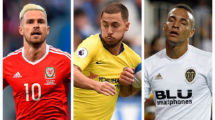 LIVE: Hazard, Ramsey, Rodrigo and other big names in the news