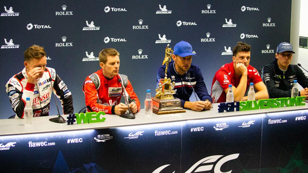 Jenson Button, ayer en Silverstone