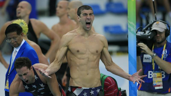 The winner of 23 Olympic golds, Michael Phelps.