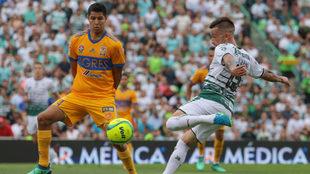 Tigres y Santos se enfrentan en el TSM.