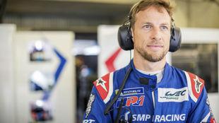 Button (SMP), parte tercero justo detrás de Fernando hoy en...