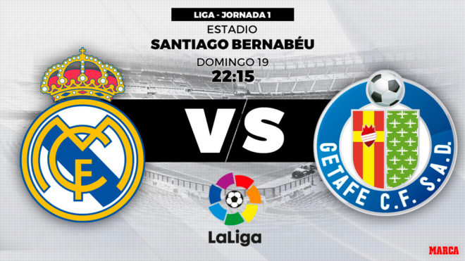 Ver Getafe Vs Real Madrid: Liga Santander 2018-19: Real Madrid Vs Getafe: Horario Y