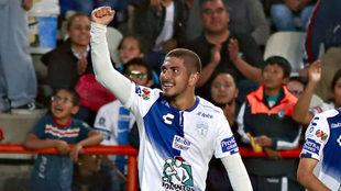 Guzmán se reencontró con el gol