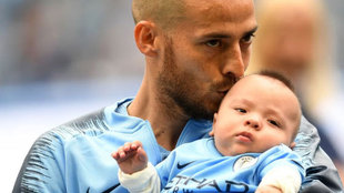 Silva and his son