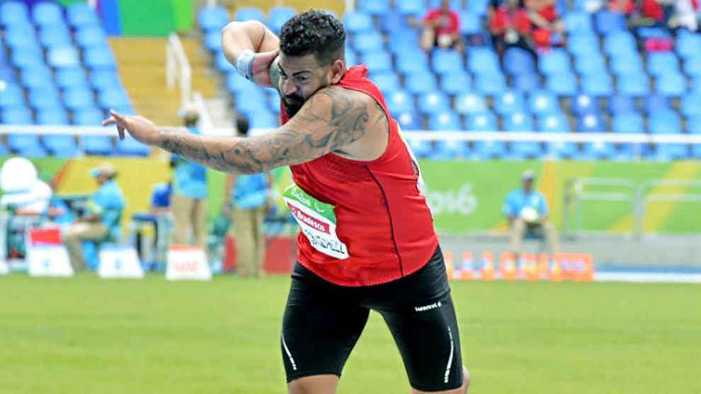 Kim López, en los Juegos Paralímpicos de Río