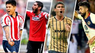 América, Pumas, Chivas y Cruz Azul son los protagonistas del torneo.