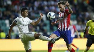 Casemiro y Saúl, en la Supercopa de Europa