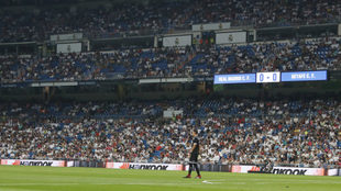 The Bernabeu stands during Real Madrid vs Getafe