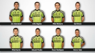 El 'ocho' de Euskadi-Murias