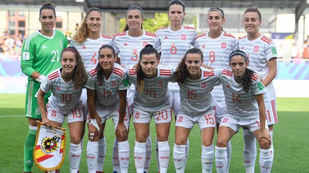 Futbol Femenino Francia Vs Espana Semifinal Del Mundial Sub 20